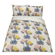 Toddler Duvet John Lewis Buy John Lewis Stellan Print Cotton Duvet Cover And Pillowcase Set