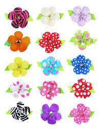 amazon com hipgirl 17pcs 2 inch snap hair clips pinwheel bow