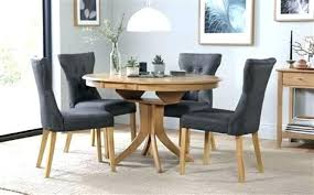 extendable kitchen table and chairs extendable round dining tables expanding round table expandable