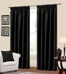 Manhattan Curtains Manhattan Pencil Pleat Thermal Blackout Curtains From Century Textiles
