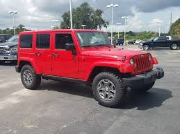rubicon jeep red jeep wrangler unlimited in beaufort sc butler chrysler dodge