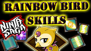 thanksgiving pet photos ninja saga thanksgiving event pet x rainbow bird x skills