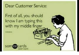 Typing Meme - dear customer service first of all you should know i am typing this