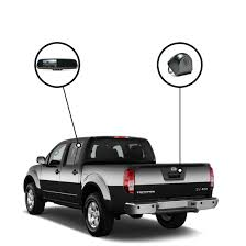 nissan trucks black rvs 718520 backup camera system for nissan frontier rear view