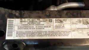 evap canister on saturn ion youtube