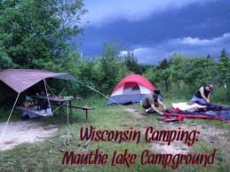 Wisconsin Campgrounds Map by Wisconsin Camping Mauthe Lake Campground U2013 Two Tents Down