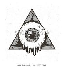 all seeing eye stock images royalty free images vectors