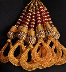 golden trims home decor embroidered tassels fringe beaded trimmings