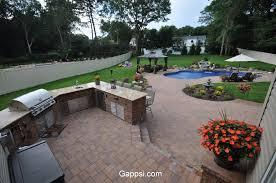Long Island Patio by Nicolock Paving Stones For Pool Patio In Lloyd Harbor New York
