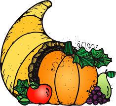 thanksgiving cornucopia clipart