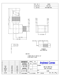 at t center floor plan bnc 75 ohms right angle cable crimp rf connectors coaxial