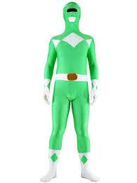 Power Rangers Halloween Costumes Adults Green Power Ranger Costumes Parties Costume