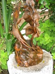 wooden sculptures by the artist from jamaica conard artsy