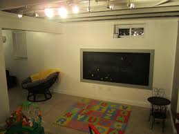unfinished basement lighting ideas find this pin and more on