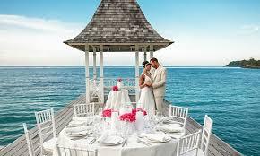 sandals jamaica wedding top 5 jamaica weddings all inclusive honeymoon resort packages
