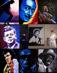 speed painter corporate entertainer shows entertainment new york