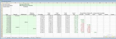 Financial Tracking Spreadsheet Download Free Investment Tracker Investment Tracker 1 0 Download