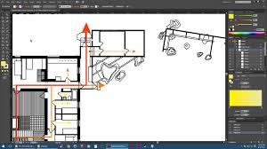 adobe illustrator floor plan diagrams tutorial youtube