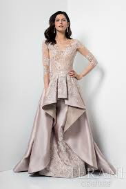 Mother Of Bride Dresses Couture by Champagne Dress Featuring A Superb Expression Of Hard And Soft