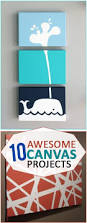 Diy Paintings For Home Decor 10 Awesome Canvas Projects