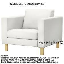 karlstad chair cover karlstad chair cover slipcovers ebay