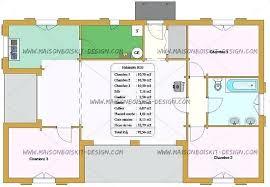 plan maison 90m2 plain pied 3 chambres plan maison 90m2 plain pied 3 chambres gratuit garage