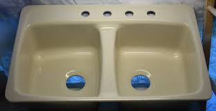 100 kohler kitchen cast iron sinks kohler bellegrove drop in
