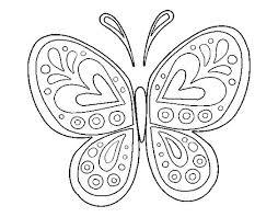 imagenes de mariposas faciles para dibujar mandalas de animales para niños fáciles para imprimir y colorear