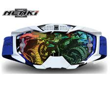 tinted motocross goggles nenki lunettes moto motorcycle glasses for men off road downhill