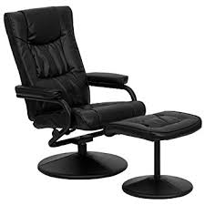 Office Chair And Ottoman Flash Furniture Bt 7862 Bk Gg Contemporary Black