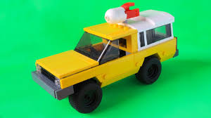 peugeot lego lego pizza planet truck from toy story or all pixar movies moc