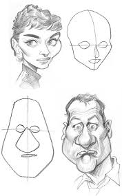 drawing caricatures art for kids