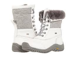 ugg s adirondack tweed boots white uggs adirondack tweed