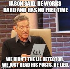 Meme Jason - jason has too much free time imgflip
