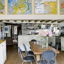 ideas for kitchen diners vintage kitchen with map picture frames http lanewstalk