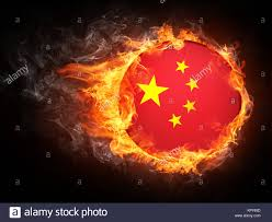 Burning Red Flag Chinese Flag Burning Stock Photos U0026 Chinese Flag Burning Stock