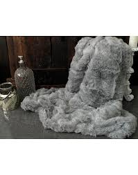 fur throws for sofas mid grey ash faux fur throws for any decor wide range of sizes and