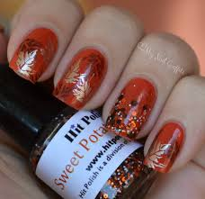 my nail graffiti fall nail art ft china glaze life preserver