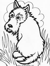 dogs coloring printable coloringgif free dog coloring pages free