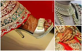 punjabi wedding chura indian wedding the world through my