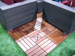 Outdoor Flooring Ideas Ikea Outdoor Flooring Decking Reviews Brown Stained Fans And