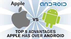 why iphone is better than android apple ios vs android top 5 reasons apple is better than android