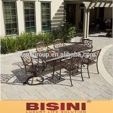 garden metal dining set cast iron cast aluminum furniture bf10