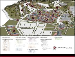 Life Map Resources Residence Life Student Life Union University A