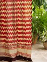 Colorful Patterned Curtains Bohemian Curtains Exotic Decorative Bohemian Colorful Sheer Tab