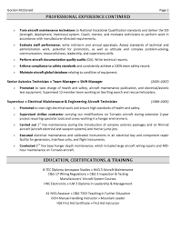 Sample Of Resume For Mechanical Engineer by The Australian Employment Guide