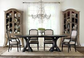 hooker dining room sets formal dining table for 10 room group with display cabinets by