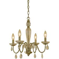 Tadpole Chandeliers by Tadpoles 4 Light White Mini Chandelier Cchapl410 The Home Depot