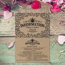 Wedding Invitation Information Card Wedding Insert Card Template Wedding Itinerary Wedding
