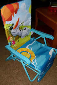 Beach Lounge Chair Disney Frozen Olaf Kids Beach Lounge Chair Reclines For Sale In